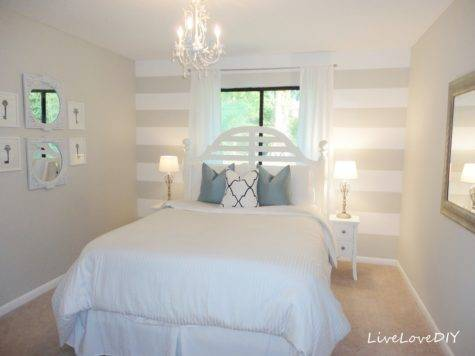 Accent Wall Ideas Master Bedroom Home Attractive