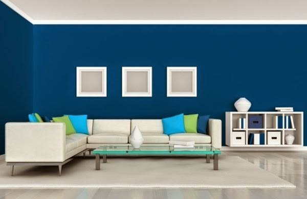 Accent Wall Living Room Color Schemes Best