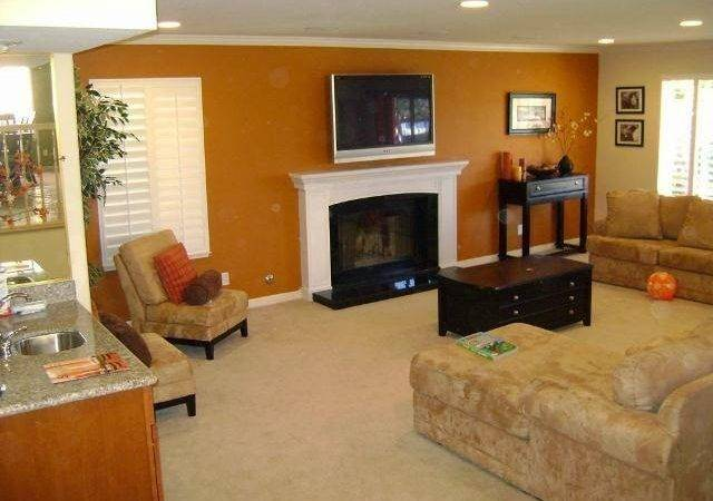 Accent Wall Paint Ideas Living Room