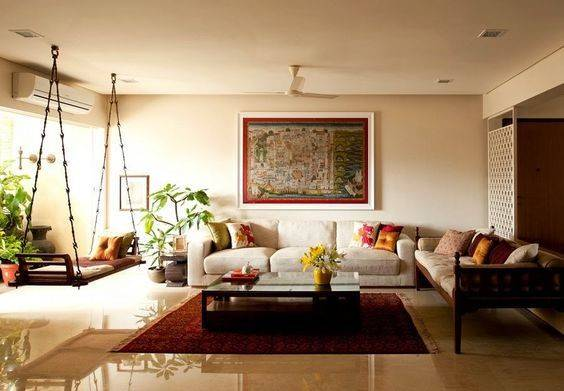 Achieve Fascinating Living Room Designs Indian