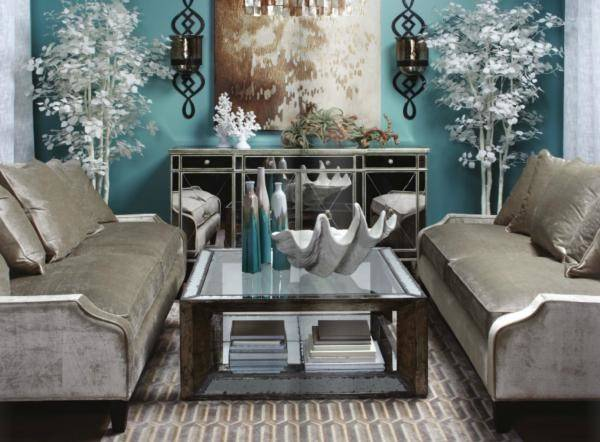 Adding Shine Mirrored Furniture