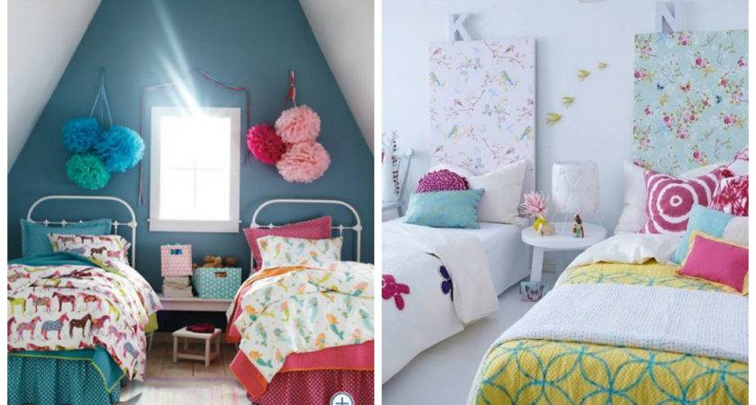 Adorable Girls Shared Bedroom Designs