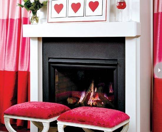 Adorable Red Valentine Day Decor Ideas