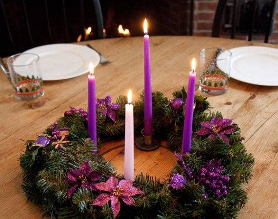 Advent Candles Ideas Perfect Christmas Decoration