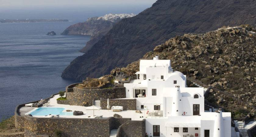 Aenaon Villas Boutique Hotel Santorini Greece Ideasgn