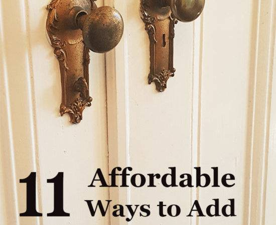 Affordable Ways Add Character Your Home