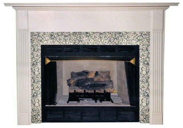 Agee Woodworks Milano Wood Fireplace Mantel Surround