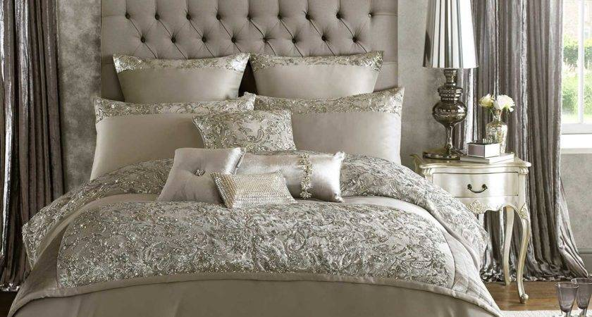 Alexa Kylie Minogue Silver Grey Bedding Duvet