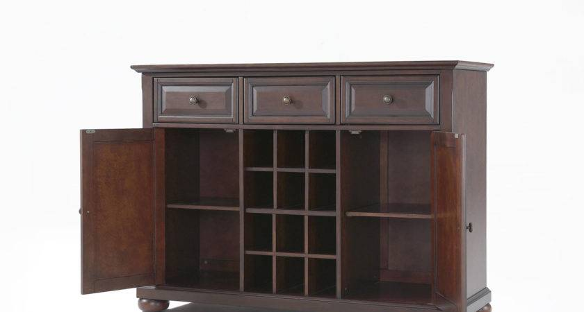 Alexandria Buffet Server Sideboard Cabinet Wine