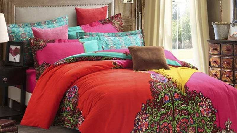 Aliexpress Buy Bohemian Bedding Set Pcs Winter Warm