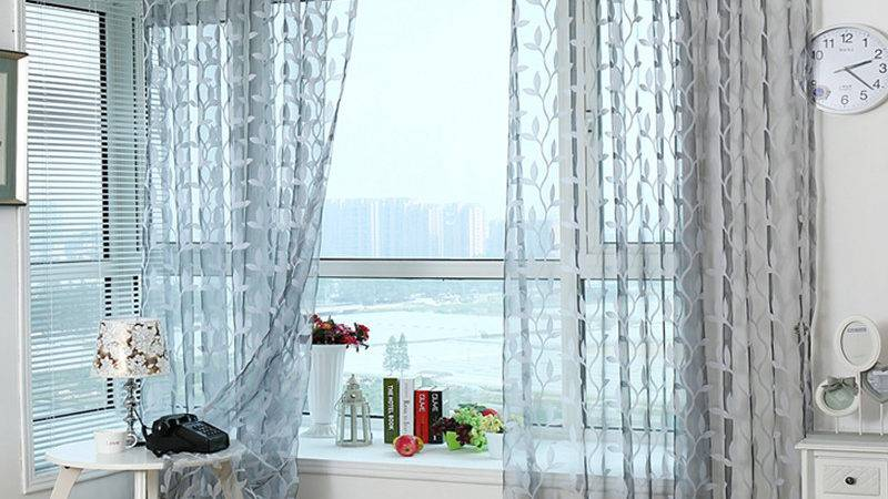 Aliexpress Buy Tulle Sheer Curtains Living
