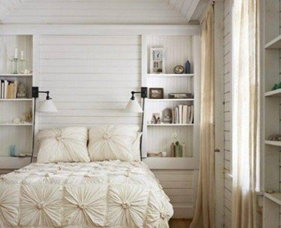 All White Interior Design Ideas Bedrooms