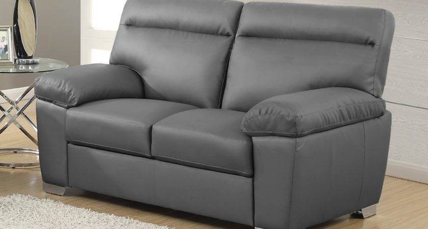 Alto Italian Inspired High Back Leather Sofa Collection