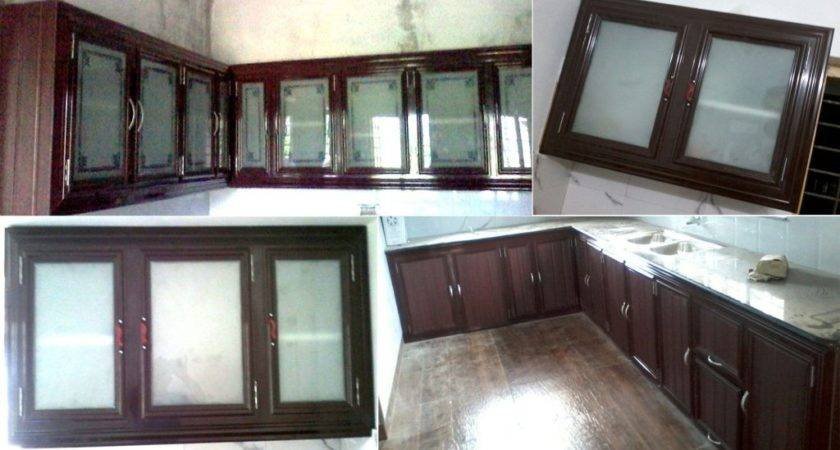 Aluminium Fabrication Kitchen Cabinets Kerala Modern