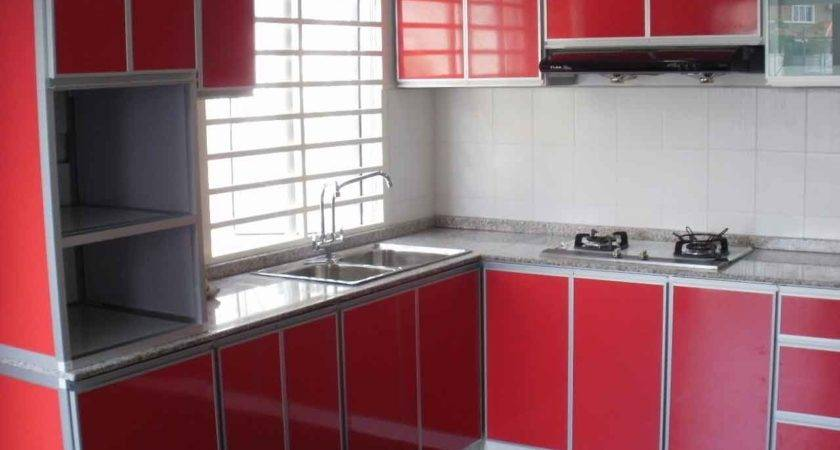 Aluminium Kitchen Cabinets Decosee