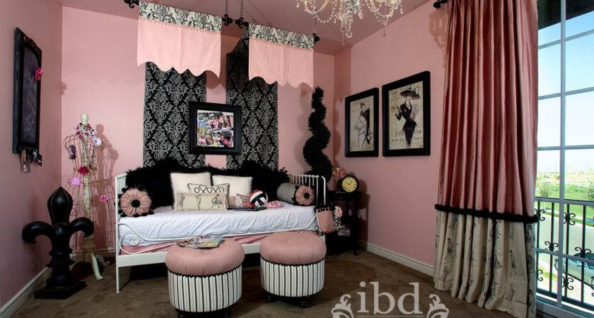 Amazing Black Pink Bedroom Ideas