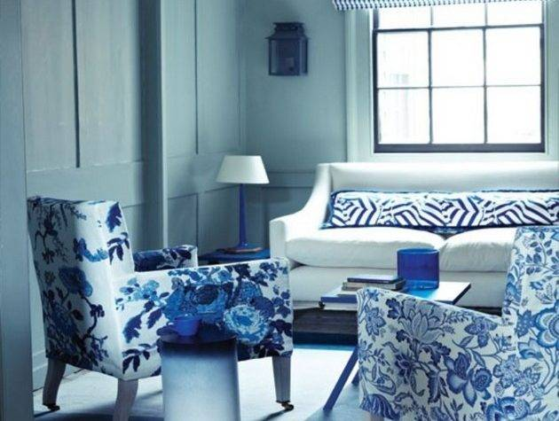 Amazing Blue Living Rooms