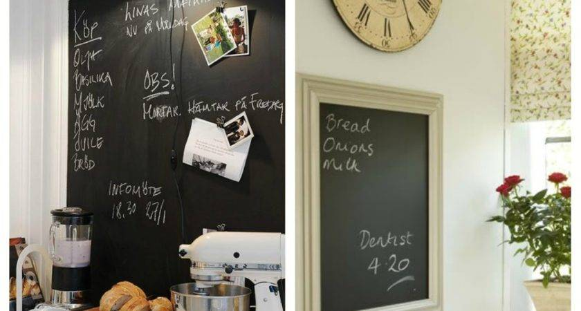 Amazing Chalkboard Ideas Home Interior Design Kitchen