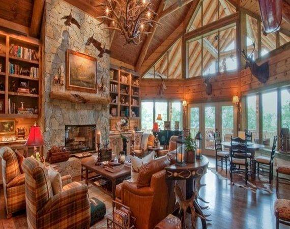 Amazing Decor Ideas Luxury Mountain Log Homes