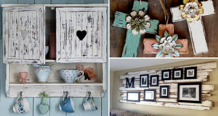 Amazing Diy Rustic Wood Home Decor Ideas Youtube