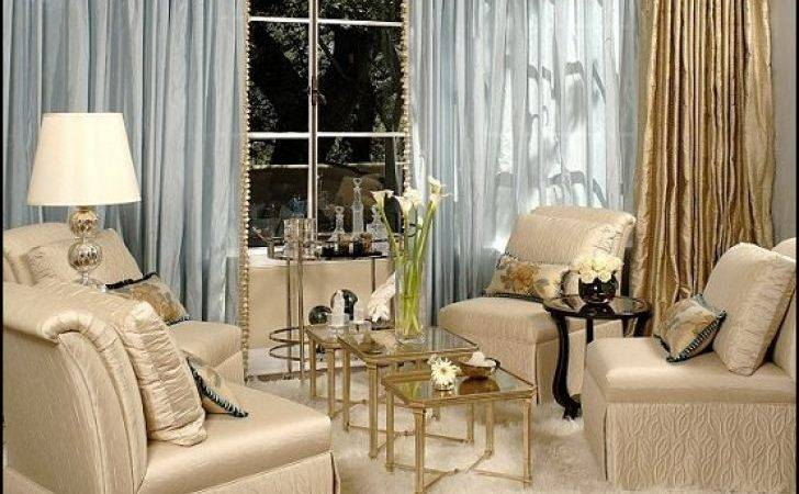Amazing Gold Silver Living Room Decor Gray