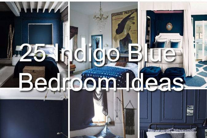 Amazing Indigo Blue Bedroom Ideas Panda House