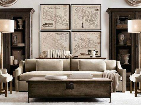 Amazing Living Rooms Inspired Restoration Hardware