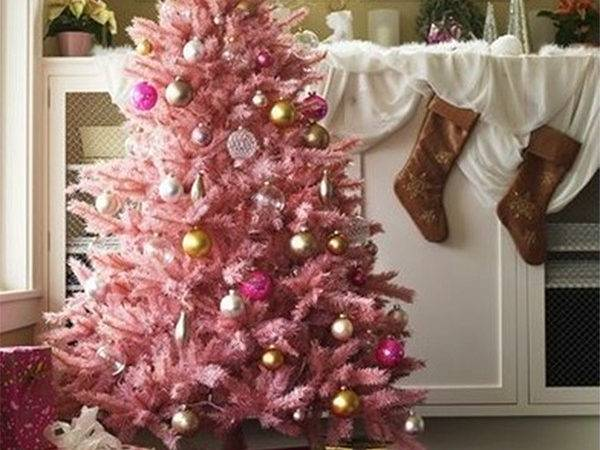 Amazing Ways Spread Pink Christmas Decor Throughout