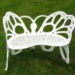 Amazon Flower House Fhbfb Butterfly Bench White