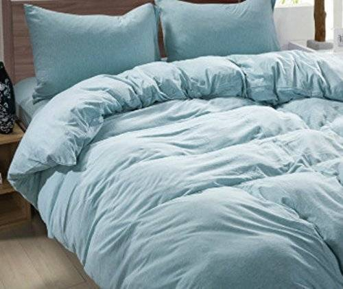 Amazon French Blue Duvet Cover Linen