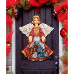 Amonogramartunlimited Old World Chrismtas Angel Wooden
