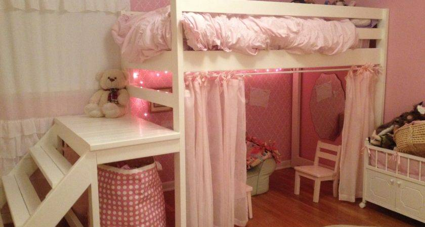 Ana White Little Girls Loft Bed Diy Projects