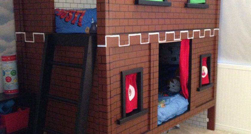 Ana White Mario Bunk Bed Castle Diy Projects