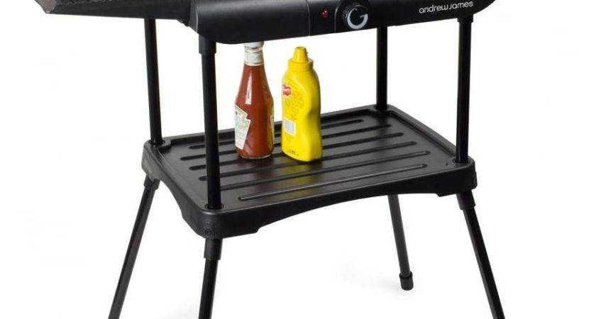 Andrew James Electric Bbq Grill Smoke Barbecue