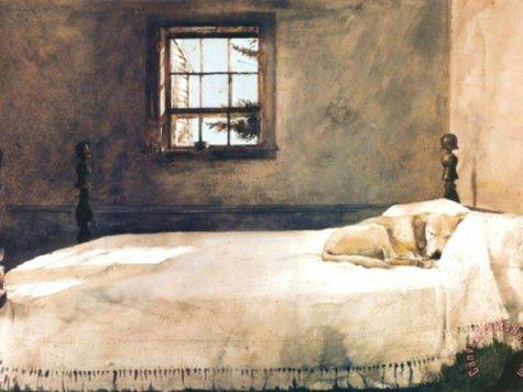 Andrew Wyeth Master Bedroom Art Print Sale