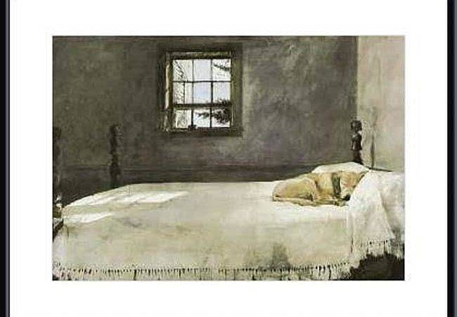 Andrew Wyeth Master Bedroom Metal Framed Art Print