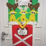 Annual Guardian Angel Christmas Door Decorating