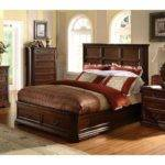 Antique Cherry Wood Bedroom Furniture American Style