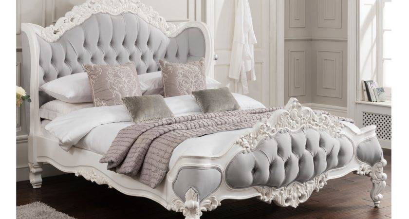Antique French Style Bedroom Furniture Design Ideas