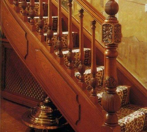 Antique Hand Carved Wooden Stair Baluster Buy