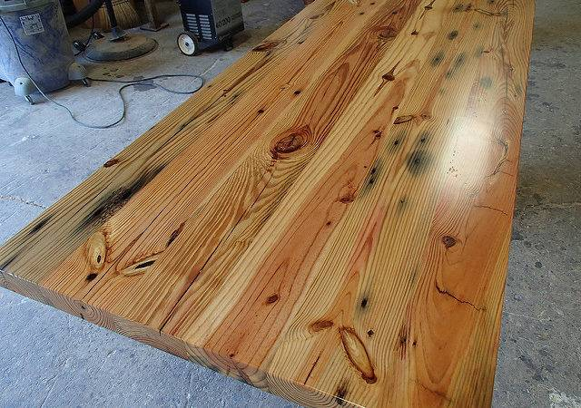 Antique Heart Pine Countertop Caleb Oldgrowthriverwood