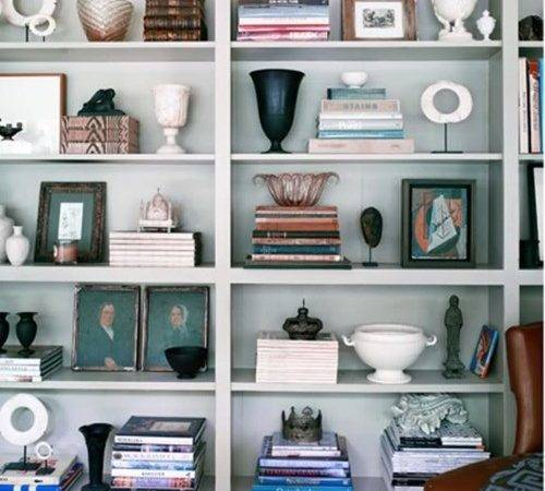 Anyone Can Decorate Bookshelves Not Just Books