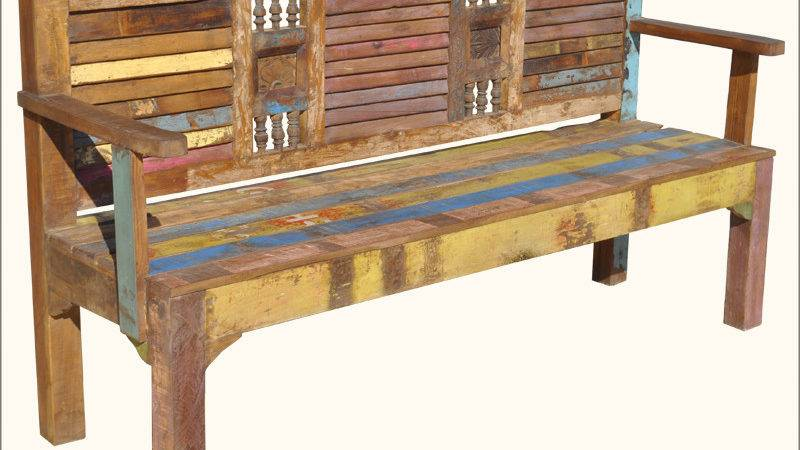Appalachian Rustic Reclaimed Old Wood Multi Color Outdoor