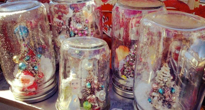 Appealing Cristmas Accessory Decorated Mason Jars
