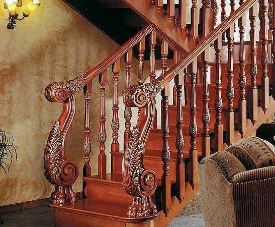 Apply Best Staircase Railing Designs Ergonomic