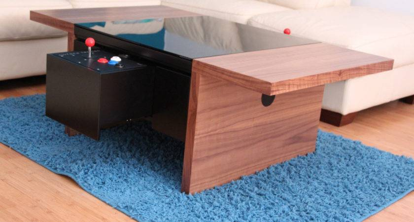 Arcade Coffee Table Sit Down Space Invaders Pac Man