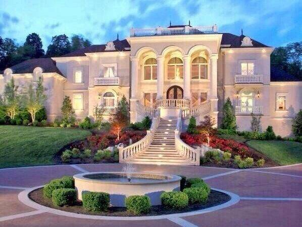 Architecture Beautiful Houses Luxury Mansion
