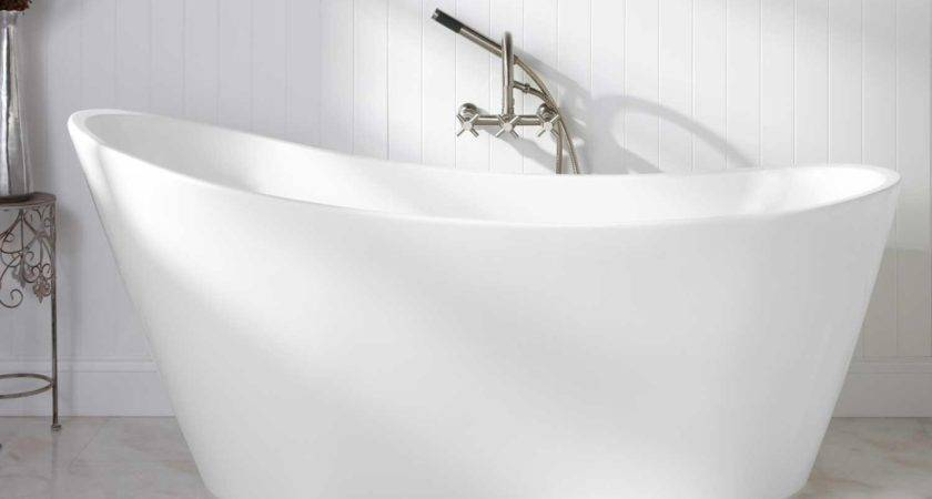 Arcola Acrylic Freestanding Tub Bathtubs Bathroom