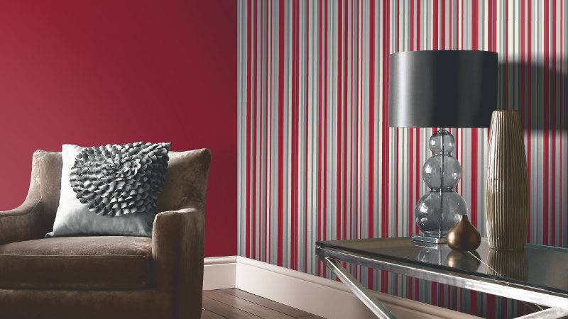Arthouse Sophia Stripe Red
