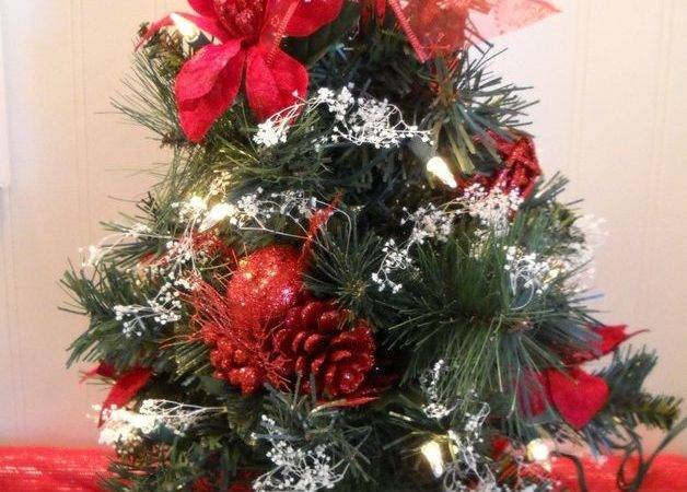 Artificial Cutest Little Christmas Tree Floral